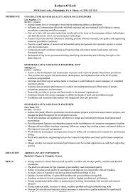 Quality Assurance Engineer Resume. Senior Quality Assurance Engineer