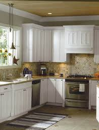 White Tile Floor Kitchen Kitchen Tile Floors With Oak Cabinets Home Design And Decor