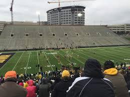 Kinnick Stadium Section 129 Row 46 Seat 8 Iowa Hawkeyes