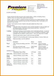 how to bid painting jobs painting proposal template job bid prinl pics nor sample interior how