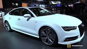audi 2015 a7 interior. Interesting Interior 2015 Audi A7 TDI SLine  Exterior And Interior Walkaround 2014 LA Auto  Show YouTube Throughout A