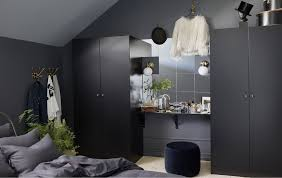 bedroom furniture ikea. dark bedroom furniture can make the room feel spacious too try putting a wall ikea s