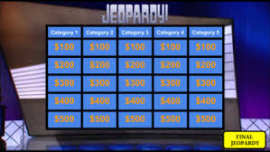 Jeopardy Game Template Google Slides - Jeopardy Game Template by ROOMBOP | TpT