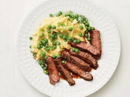 It can be divided into the inside and outside skirt, the latter of which is a little thicker, more tender, and more uniformly shaped than the former. Skirt Steak Recipe Alton Brown Food Network