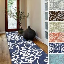 hand tufted fl contemporary runner rug x target bathroom area rugs new indoor outdoor runner rugs target rug pad hallway