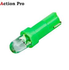 Action Pro <b>10 Pcs Car</b> Interior <b>T5 led</b> 1 SMD <b>led</b> Dashboard Wedge ...