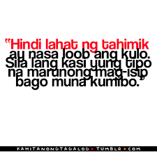 Everything Tagalog.