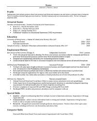chic idea graduate student resume 4 career services at the university of  pennsylvania - Actuary Resume