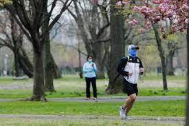 コロナ ジョギング マスク