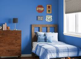 blue bedrooms. Bedroom In Bright Cornflower Bedrooms Rooms Color Impressive Colors. «« Blue