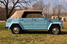 1973 volkswagen thing convertible 63877 1973 volkswagen thing convertible side profile 63877