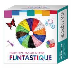 Купить <b>комплект PLA</b>-<b>пластика</b> для 3D-ручек - 7 цветов по 10 ...