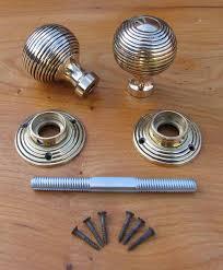 Threaded Spindle Door Knob | Door Knobs and Pocket Doors