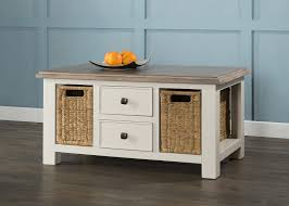 coffee table 2 drawers 2 baskets 54 04