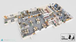 office floor plans. Delighful Office The Office 3D Floor Plan And Plans F