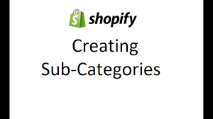 SHOPIFY - How to Create Sub Category drop down menu - YouTube
