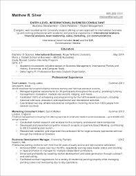 Finance Internship Resume Objective