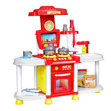 Toy Kitchen With Lights And Sound Simulate Kids Kitchen Toy Set With Light Sound Play House