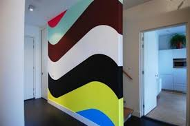 geometric wall paintGeometric Wall Paint Finest Diy Geometric Painted Wall U Diy U