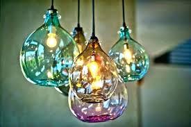 blown glass chandelier artist hand for ideas 15