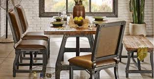 industrial dining room chairs awesome create a warm living e rooms with regard to 0