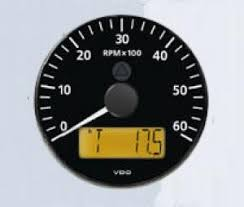 vdo viewline onyx programmable tachometer hour meters vdc vdo viewline onyx programmable tachometer hour meters 12 24 vdc
