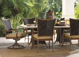 tommy bahama outdoor living island estate lanai dbl pedestal table base tommy bahama outdoor furniture h19