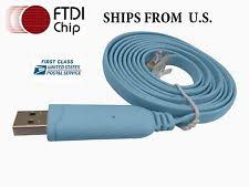 cisco console cable usb to rs232 serial to rj45 cat5 console adapter cable for cisco routers ftdi