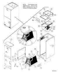 Furnace diagram parts list for model fcp3000c1 icp parts air handler