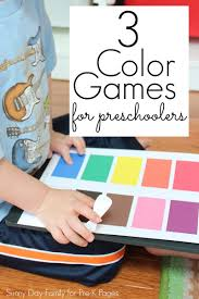 3 Fun Colors Games For Preschoolers Pre K Pages
