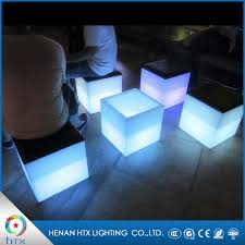 Glow Furniture Glowing Cube Glowing Cube Suppliers And Manufacturers At Alibabacom