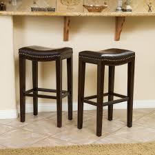 walker brown backless bar stools (set of )  walmartcom