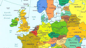 map of europe with cities roundtripticket me new  pointcardme
