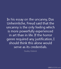 freud the uncanny essay annotated bibliography writing essays department of english and american studies the uncanny the