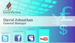 How To Include Social Media Icons Into Your Business Card Design