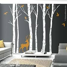 winter tree wall decals online store birch trees and deer wall decal winter  trees wall birch