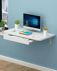 Office table for home Corner Portable Table Laptop Table Simple Office Wallmounted Computer Desk Flat White Selection Of Furniture Feature Lighting Decoration Artwork Home Home Office Desks Buy Home Home Office Desks At Best Price In