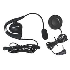 motorola 2 way radio headset. the 1884 ptt and headset bundle, when used together, provides ideal solution for using your motorola talkabout 2-way radios in noisy or active 2 way radio w