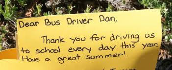 thank you letter to coach from parents what to write in a thank you card for your driver