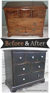 How this beat up pine dresser went from being an eyesore to an eye catcher  - Before and After from Facelift Furniture. Buy Annie Sloan Chalk Paint  from ...