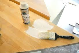 wood countertop sealer how to white wash stain and seal a butcher block beeswax wood countertop