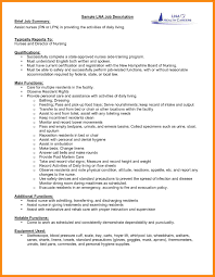 Resume Description Examples 100 Resume Job Description Examples Manager Resume 35