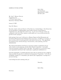 Cover Letter For Food Service Food Services Cover Letter Ninjaturtletechrepairsco 7