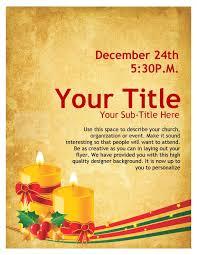 christmas event flyer template christmas carols church flyer template flyer templates