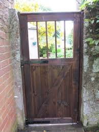 dressed gate replica of 80 year old original