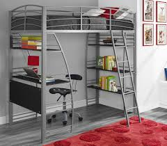 sofa elegant bunk bed with desk underneath 26 4504 5 silver metal staircase 2 appealing