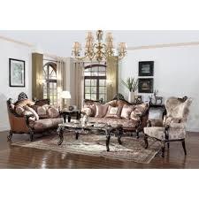 Traditional Sofa Printed Fabric Sofas8