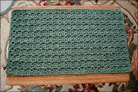 Free Crochet Placemat Patterns Beauteous Looking To Crochet A Placemat Pattern 48 Simple Patterns To Use