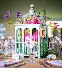 22 eye catching inexpensive diy wedding centerpieces fl birdcage wedding centerpiece idea