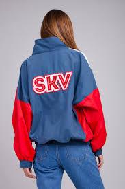 <b>Ветровка SUKOVA VVY-01-1992 Деним/Красный/Белый</b> ...